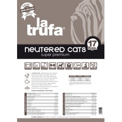 La Trufa Neutered Cats 17 Kg