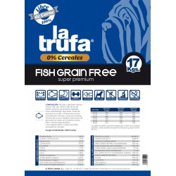 La Trufa Fish Grain Free Adult 17 Kg