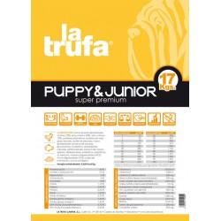 La Trufa Puppy & Junior 17 kg
