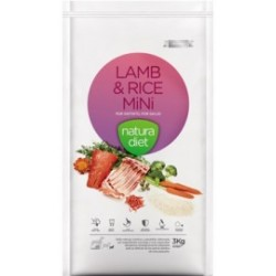 Natura Diet Lamb & Rice Mini 3 Kg