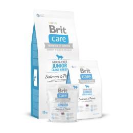 Brit Care Grain Free Junior Large Breed Salmó i Patata
