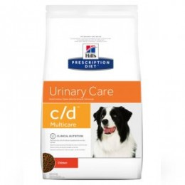 Hill's Prescription Diet Canine C/D Multicare per Gossos