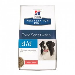 Hill's Prescription Diet Canine D/D Salmó i Arròs per a Gossos