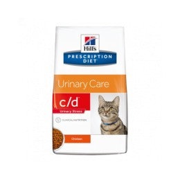 Hill's Prescription Diet Feline C/D Urinary Stress per a Gats