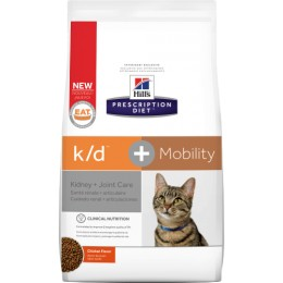 Hill's Prescription Diet Feline K/D + Mobility per Gats