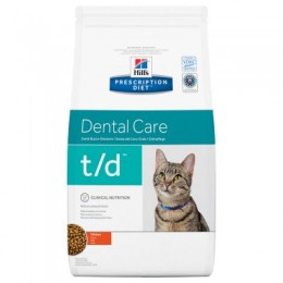 Hill's Prescription Diet Feline T/D per Gats
