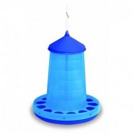 Tolva de Plàstic per Aus - Color Blau - Capacitats de 2, 4, 8, 12, 16Kg