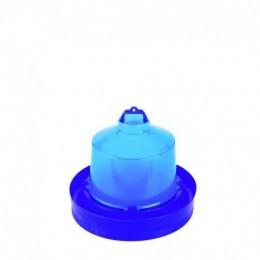 Abeurador per Pollets de Primera Edat - Color Blau - Diferents Capacitats