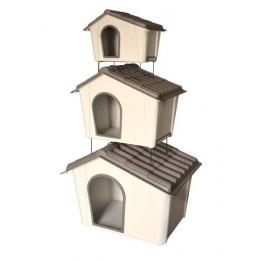 Caseta de Plàstic per Gossos - Model Cuccia - Mini, Mitjana o Gran