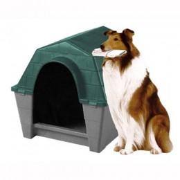 Caseta de Plàstic per a Gossos de Races Mitjanes i Grans - Diferents Mides Disponibles
