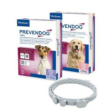 Pack de 2 collars antiparasitaris Prevendog per a Gossos