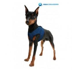 Arnés Comfy Aqua Coolkeeper Pacific Blue per a Gossos