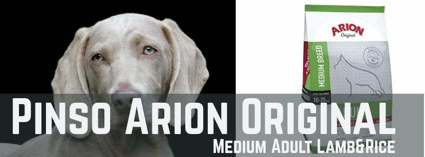 Pinso Arion Original Medium Adult Lamb&Rice per Gossos